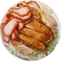 Roasted Chicken & Char Siew Rice