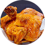 Whole Roasted Chicken (Cut)