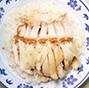 白斩鸡烧肉饭